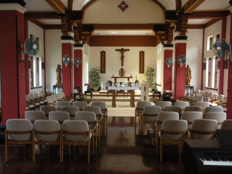 Chapel at stanley