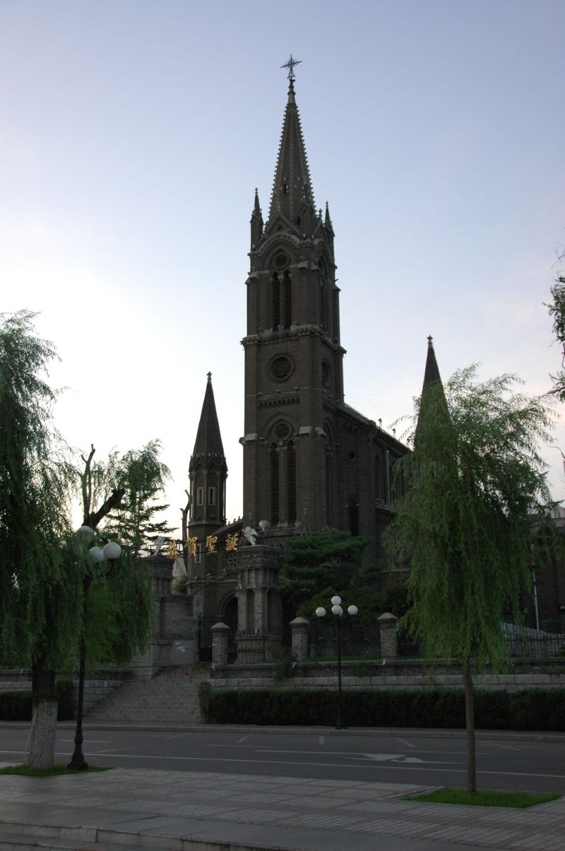 The_Catholic_Church_of_Jilin_City