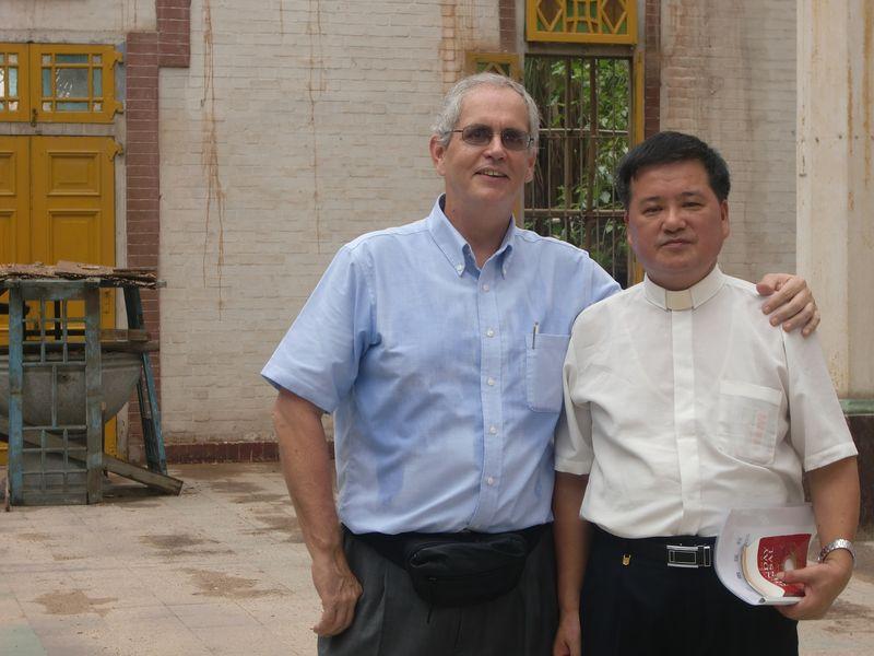 Fr. Brian and Fr. Liang