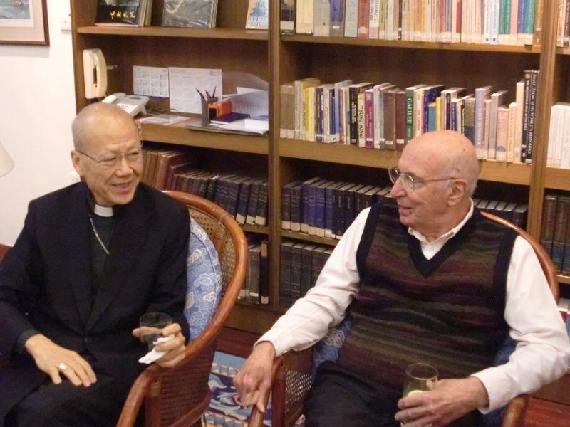 Bishop Tong and John Cioppa