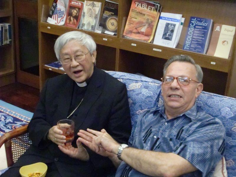 Cardinal Zen and Bob Astorino 2