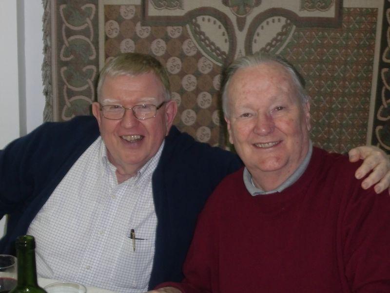 Ed Phillips and Denis Hanley