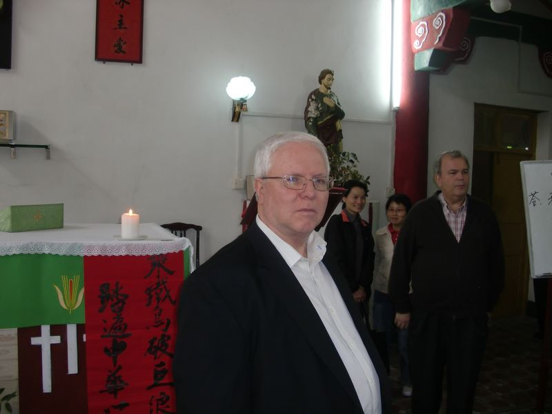 Doc at Ngai Sai chapel