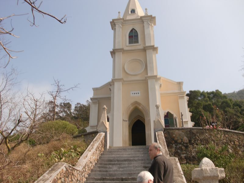 Sancian Island chapel