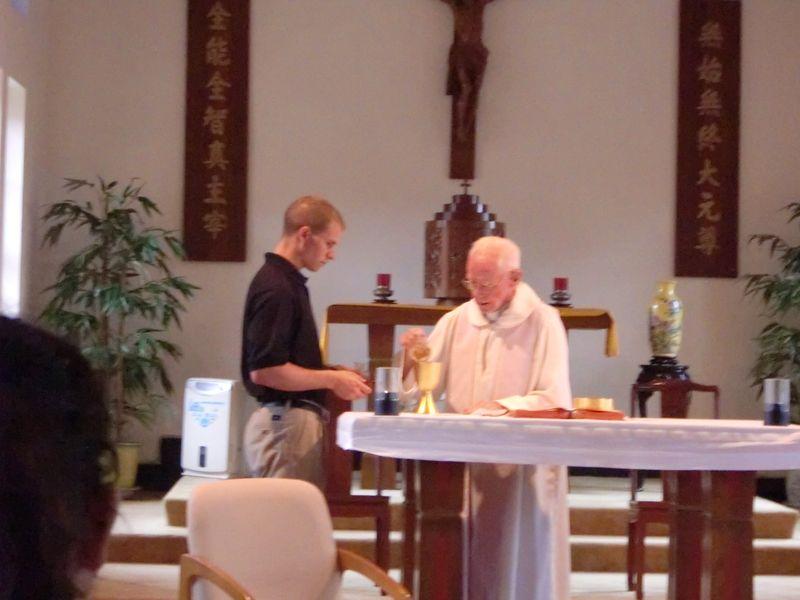 Joseph Kuharski and Fr. Bill