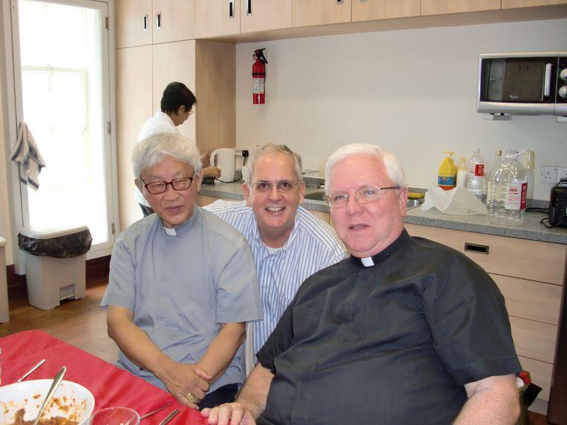 Joseph Cardinal Zen, Brian and Ed