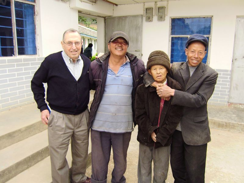Brother Bob Butsch in Sichuan