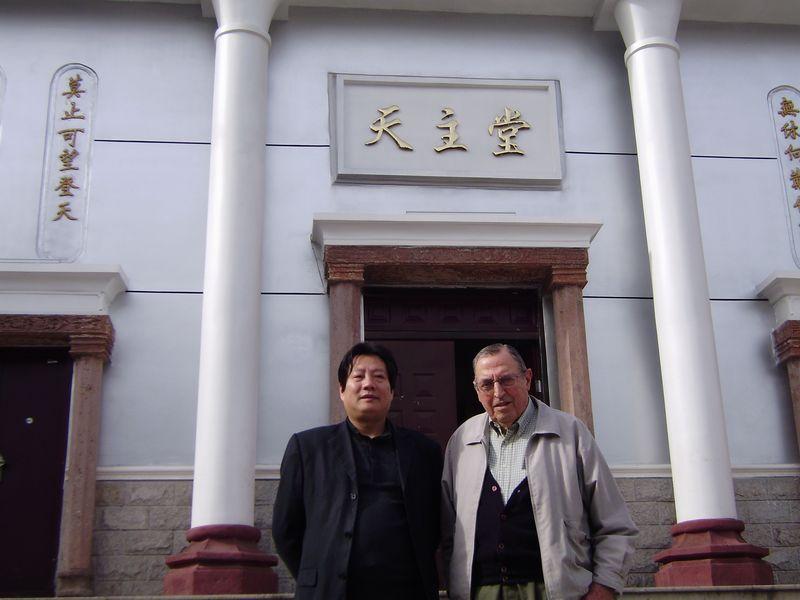 Outside Church