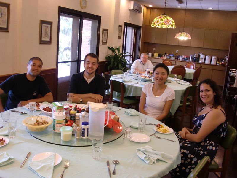From left Lorenzo, Jeff, Ed, WWW, Mayra