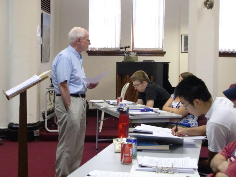 Bill's lecture
