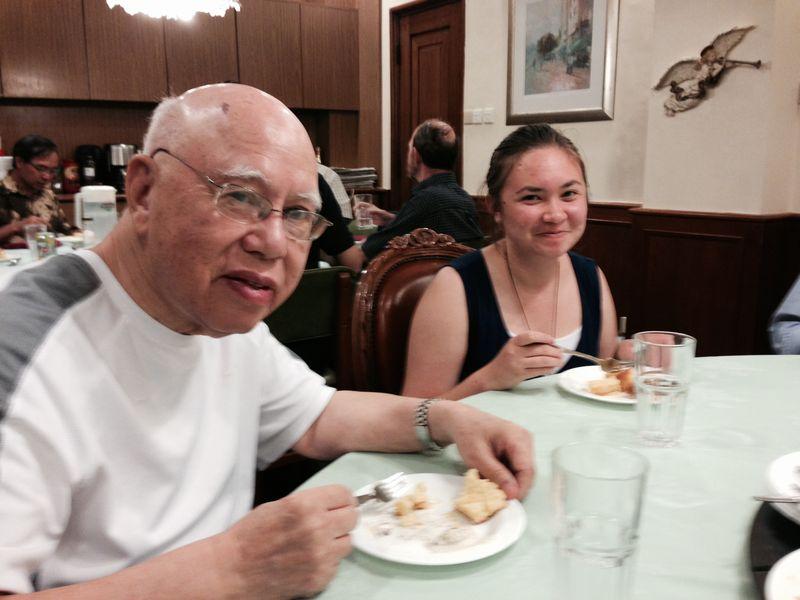 Monsignor and victoria